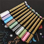 Waterproof Metallic Paint Marker Pens (Suit With 10 Colors)
