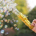 ✨ Gatling Bubble Machine 2021 Cool Toys & Gift (Free Shipping)