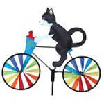 Cat Bicycle Wind Spinner