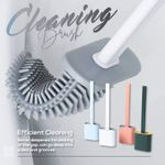 ⭐️Bathroom Toilet Cleaning Brush And Holder Set