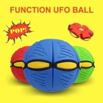 Magic Decompression Multi-Function UFO Ball With Led Light
