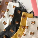 2021 New Cartoon Women's Breathable Cotton Socks (2 Pairs)