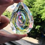 Hanging Crystal Prism Suncatcher