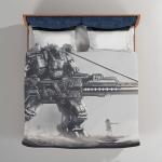 A Certain Magical Index Mecha Robot Sci Fi Bedding Set Duvet Cover