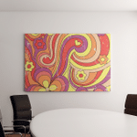 1960S 1970S Hippie Style Psychedelic Art - Psychedelic Canvas Art Wall Decor