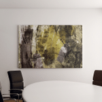 Mixed Technics Expression Abstract Painting Canvas Art Wall Decor