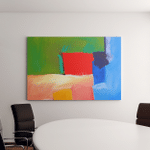 Modern Abstract Art Illustration Original Contemporary Canvas Art Wall Decor