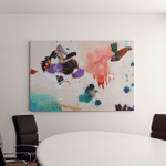Abstract Background Canvas Art Wall Decor