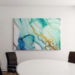 Abstract Clouds Art Transparent Creativity Inspired Canvas Art Wall Decor