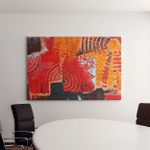 Abstract Colorful Oil Painting On Canvas Canvas Art Wall Decor