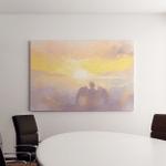 Abstract Digital Painting Angel Cupid On Canvas Art Wall Decor