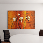Abstract Flower Oil Painting Canvas Art Wall Decor