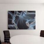 Colorful Background Flowing Fabric Smooth Soft Canvas Art Wall Decor