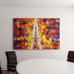 Oil Painting Tower Eiffel Paris Canvas Art Wall Decor