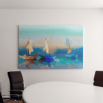Colorful Oil Painting On Canvas Texture Canvas Art Wall Decor