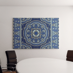 Oriental Abstract Ornament Colorful Template Carpet Canvas Art Wall Decor
