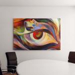 Colors Mind Series Composition Elements Human Canvas Art Wall Decor