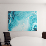 Abstract Ocean Art Natural Luxury Style Canvas Art Wall Decor