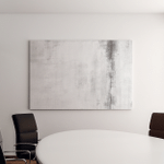 Black White Abstract Art Painting Canvas Art Wall Decor