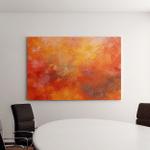 Abstract Oil Paint Texture On Canvas Canvas Art Wall Decor