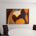 Parent Connection Series Abstract Design Made Canvas Art Wall Decor