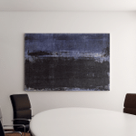 Blue Abstract Art Painting Canvas Art Wall Decor