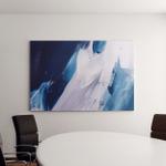 Blue Abstraction Acrylic Paints On Canvas Canvas Art Wall Decor