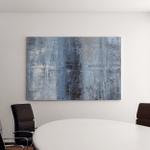 Blue Grey Abstract Art Canvas Art Wall Decor