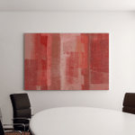 Red Abstract Art Canvas Art Wall Decor