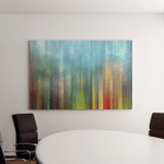 Abstract Painting Background Digital Structure Canvas Art Wall Decor