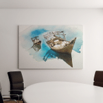 Dhow Painting Canvas Art Wall Decor