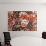 Digital Art Modern Poster Face Girl Canvas Art Wall Decor
