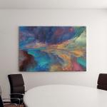 Dream Land Series Abstract Arrangement Digital Canvas Art Wall Decor
