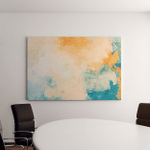 Abstract Stained Pattern Texture Square Background Canvas Art Wall Decor