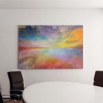 Dream Land Series Composition Digital Colors Canvas Art Wall Decor