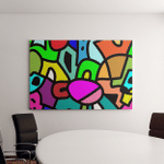 Seamless Modern Pattern Trendy Background Canvas Art Wall Decor