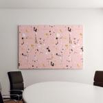Brush Strokes Paint Splashes Seamless Pattern Canvas Art Wall Decor