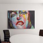 Fantasy Woman Portrait Temptation Oil Painting Canvas Art Wall Decor
