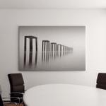 Fine Art Image Black White Abandon Canvas Art Wall Decor