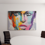 Fantasy Woman Portrait Colorful Emotions Series Canvas Art Wall Decor