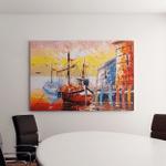 Oil Painting Venice Italy Canvas Art Wall Decor