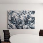 Grunge Brush Strokes Background Canvas Art Wall Decor