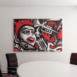 My Abstract Song Vector Art Canvas Art Wall Decor