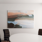 Nature Abstract Landscape Painting Background Modern Canvas Art Wall Decor