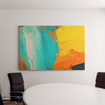 Hand Drawn Oil Painting Abstract Art Canvas Art Wall Decor
