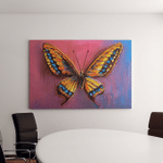 Oil Painting Butterfly Canvas Art Wall Decor