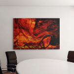 Image Large Scale Abstract Painting On Canvas Art Wall Decor