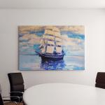 Original Oil Painting Seascape Modern Art Canvas Art Wall Decor