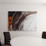 Painted Abstract Background Canvas Art Wall Decor