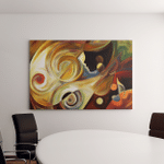 Inner Melody Series Arrangement Colorful Human Canvas Art Wall Decor